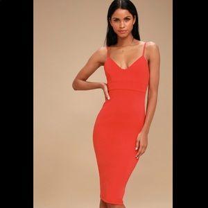 Lulus bodycon Midi dress